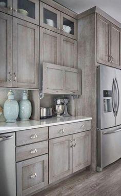 Diy Kitchen Remodel, Diy Kitchen Cabinets, Kitchen Cabinet Design, Kitchen Redo, Home Decor Kitchen, Home Kitchens, Custom Kitchens, Kitchen Hacks, Dream Kitchens