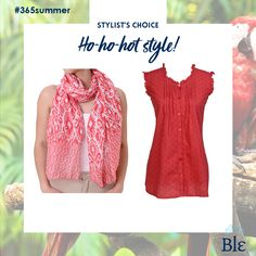 Spending the holidays somewhere warm? Red in your outfit keeps you in sync with the holidays! Find the combo here www.ble-shop.com Stylists, Warm, Holidays, Hot, Outfits, Shopping, Style, Fashion, Vacations