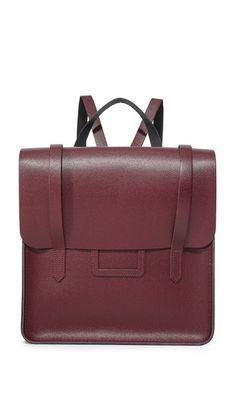 ca75099b8159 Cambridge Satchel Folio Backpack Red Backpack