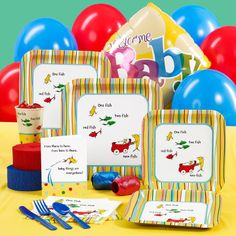 Baby Seuss Baby Shower Standard Party Pack