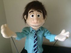 Custom Made Professional People Puppet Boy / by ThePuppetWorkshop – puppets pins People Puppets, Full Body Puppets, Professional Puppets, Custom Made, Boys, Puppets, Puppet, People, Creativity