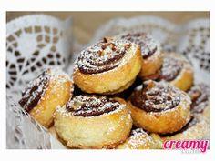 Creamy  Cakes: Escargots au Nutella® * Caracois de Nutella®