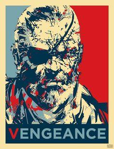 Metal gear solid V - Yoji Shinkawa Metal Gear Games, Metal Gear Solid Series, Raven Logo, Snake Art, Gear Art, Video Game Art, Illustrations And Posters, Anime Comics, Gears