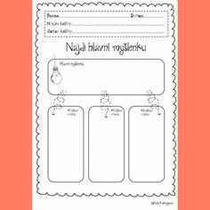 Produkt - Pracovní listy na čtenářské strategie