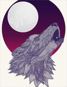 Howling Wolf by Claire Scully
