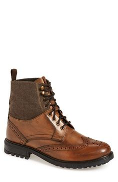 Ben Sherman 'Daryl' Wingtip Boot (Men) available at #Nordstrom