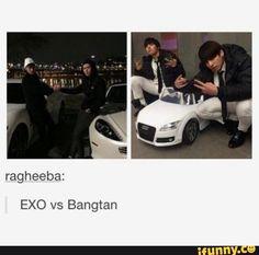 bts, jungkook, jhope, EXO, sehun