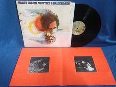 Vintage Harry Chapin  Verities & Balderdash by sweetleafvinyl