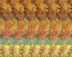 Stereogram by 3Dimka: French meal. Tags: dog,frog,jump,animals, hidden 3D picture (SIRDS)