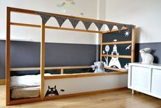 Ikea Kura bed hack - Totoro bed!