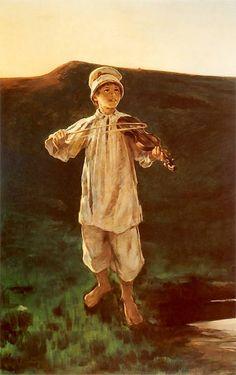 Witold Pruszkowski ~ Pastuszek, (1896)
