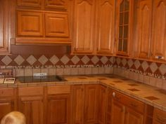 latest in tile countertops | Kitchen Picture - Entering New Kitchen with James. Tile countertops ...