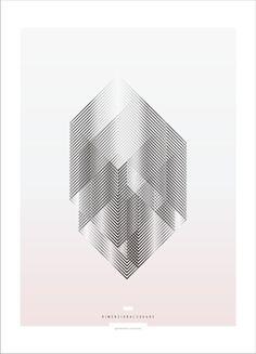 Geometric Exercises - Graphic Poster Design by Sebastián Correa