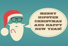 pixelrockit: create hipster Christmas card for $5, on fiverr.com
