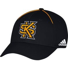 Adidas Men's Kennesaw State University Coach Structured Flex Cap (Blue, Size Small/Medium) - NCAA Licensed Product, NCAA Men's Caps at Academy Sports