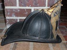 Old Fire Helmets