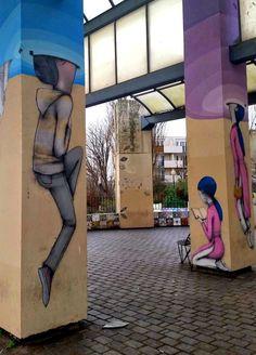 SETH /// Parc de Belleville, Paris
