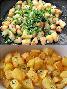Batatas Sauté – Caderno de Receitas