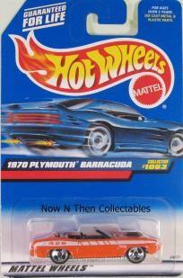 1970 Plymouth Barracuda 1999 Hot Wheels #1063   $1.90