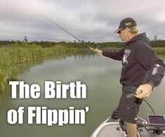How the flip cast was born. Bass Fishing, It Cast, In This Moment, Baseball Cards, Tips, Fishing, Counseling