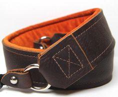 LEATHER Camera Strap - PREMIER Edition Leather - The Kodiak. $99.00, via Etsy.