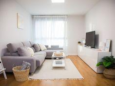 Un piso con una decoración lowcost llena de ingenio