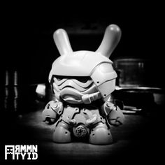 They are coming... #Samurai #Armor #Stormtrooper #StarWars #Steampunk #ArtToy #LimitedEdition #WIP