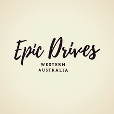 Everything Epic Drives, all in one place. Driving Instructions, Western Australia, Everything, All In One, Road Trip, Places, Lugares
