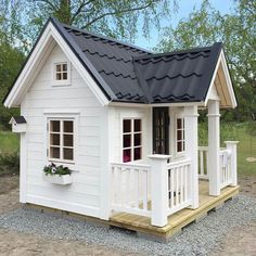 Cutest playhouse i have seen kids playhouse outdoor, backyar Outside Playhouse, Girls Playhouse, Backyard Playhouse, Build A Playhouse, Backyard Playground, Childrens Playhouse, Outdoor Playhouses, Playhouse Ideas, Playground Ideas