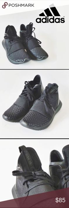 Adidas Tubular Defiant Selling for my daughter.  Like new condition. Size 6 women's Adidas Tubular Defiant in black Purchased at Champs.com adidas Shoes Athletic Shoes https://twitter.com/ShoesEgminfmn/status/895096695293329409