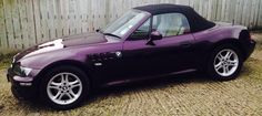 BMW Z3 purple Bmw Z1, Bmw Love, Bmw Series, Purple, German, Passion, Colour, Cars, Random