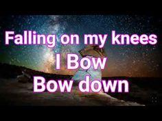 William McDowell falling on my knees(lyric) Church Songs, Spiritual Warrior, Worship The Lord, Gospel Music, Blood, Lyrics, Spirituality, Youtube, Beautiful