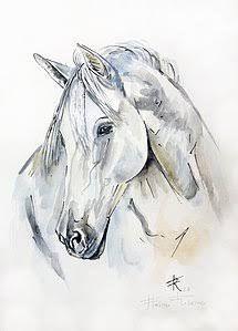 Aquarela Cavalo Pesquisa Google Pferde Malen Gemalte Pferde