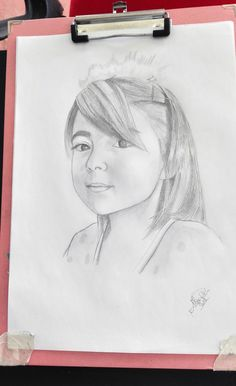 Ritratto su commissione, matita Clelia Female, Art, Art Background, Kunst, Gcse Art, Art Education Resources, Artworks