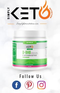 Don't forget to Follow Us! Once you do, you will receive helpful tips & tricks on how to use this Exogenous Ketone Supplement, 100% D-BHB, to reach your Low Carb & Keto goals! Simply Keto, Ketone Supplement, Keto Nutrition, Low Carb Keto, Helpful Tips, Don't Forget, Goals, Useful Tips, Handy Tips