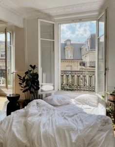 Dream Rooms, Dream Bedroom, Dream Apartment, French Apartment, Aesthetic Bedroom, My New Room, House Rooms, My Dream Home, Room Inspiration