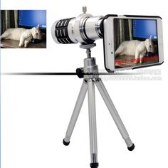 $25 telescope for iphone6  12 times zoom telephoto photography    http://www.buywithagents.com/products/42438321854