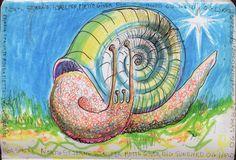 LUIS DESENHA: Mette snail's Voto.