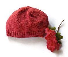Three kids' beanies handknit winter hat woollen by TigsTogs