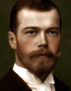 A beautiful portrait of the Tsar of Russia by Dmitri MEDVEDEV