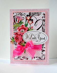Hello friends! Love is still in the air and I love creating with Anna Griffin's Minc machine and collections.   Her latest is the Minc Lov...