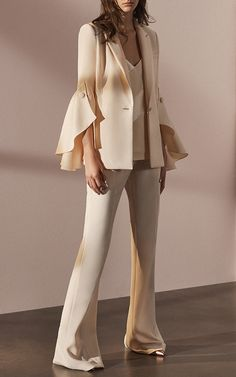 Ruffle Sleeve Jacket by Prabal Gurung | Moda Operandi