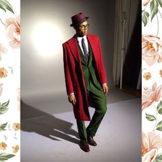 isaiahxpaul:  Isaiah Paul for Nigerian Suit Designer McMeka