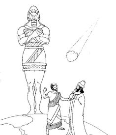 bible coloring pages nebuchadnezzar - photo#16