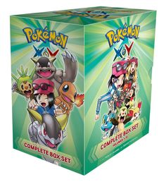 Pokémon X•Y Complete Box Set: Includes vols. 1-12 (Pokemon)  Awesome adventures inspired by the best-selling Pokémon X and Y video games! All your favorite Pokémon game characters jump out of the screen into the pages of this action-packed manga!   via @AnotherUniverse.com  https://anotheruniverse.com/pokemon-x%e2%80%a2y-complete-box-set-includes-vols-1-12-pokemon