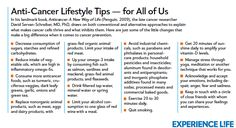 Little changes that make a big difference when it comes to #cancer #prevention. #health #infographic