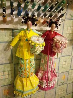 Купить Rose and Daisy... (хранительницы ватных дисков и палочек) - ярко-красный, банная хранительница