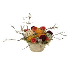 Tumbling Pumpkins ❤ liked on Polyvore featuring home, home decor, holiday decorations, autumn centerpieces, orange home decor, autumn home decor, pumpkin centerpieces and fall home decor