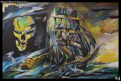 Ship tattoo on sketch (on paper) by Yuriy Barinov English Tattoo, Tattoo Photos, Tattoo Artists, Tattoos, Painting, Sketch, Ship, Paper, Tattoo