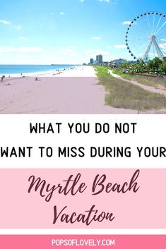 Discover the most fun things to do in Myrtle Beach. Plan a fun trip with kids at Myrtle Beach, South Carolina. South Carolina Vacation, Myrtle Beach Vacation, North Myrtle Beach, Beach Trip, Vacation Trips, Vacation Ideas, Myrtle Beach Things To Do, East Coast Road Trip, Free Summer